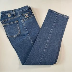Cruel Girl Starched Relaxed Straight Leg Jeans